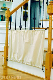 Top Of Stairs Baby Gate With Banister 1000 Ideas About Ba Gates Stairs On Pinterest Ba Gates Stair Gate