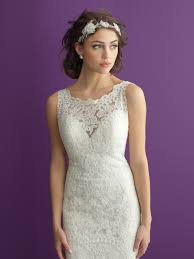 wedding dresses with purple detail bridals style 2960