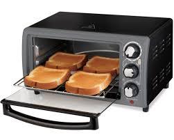 Toaster Oven Set Hamilton Beach Toaster Oven In Charcoal Model 31148 Walmart Com