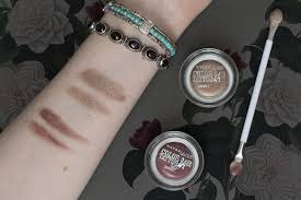 maybelline eye studio color 24hr swatches and review disco