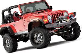 97 jeep wrangler parts bushwacker flat style flares for 97 06 jeep wrangler tj