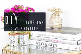 make your own pineapple ornament diy home decor youtube