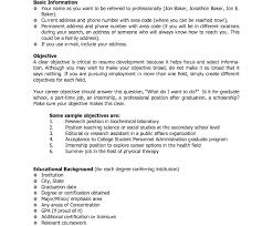 sle high student resume for college high studentesume objective statementecent graduate sles