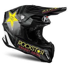 rockstar motocross helmet 2018 airoh twist motocross helmet team rockstar matt dirtbikebitz