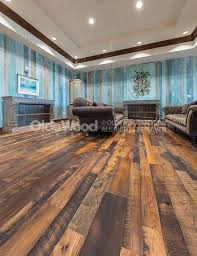 distressed oak reclaimed flooring wide plank oak floor olde wood