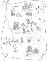 Chicago Neighborhood Map A New Bloom Diy And Craft Projects Home Interiors Style And