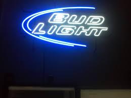 bud light neon signs for sale 2012 bud light neon sign mancave staple