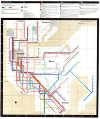 Manhatten Subway Map by System 1972 Jpg