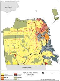 san francisco land use map mapping residential development in san francisco brian goggin