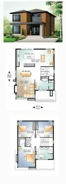 modern house layout plan 80878pm dramatic contemporary with second floor deck modern