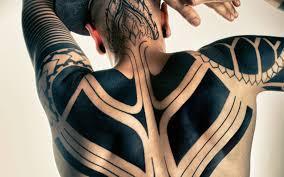 tattoo samoan maori hawaiian full black full back tattoo for