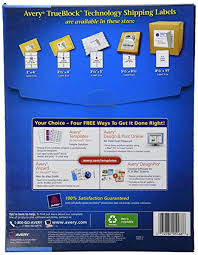 avery design pro 5 avery shipping labels with trueblock technology for
