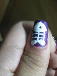 nail art design fish bone maria katrina tiong flickr