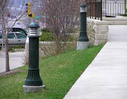led l post light commercial outdoor lighting and led for philadelphia main line and