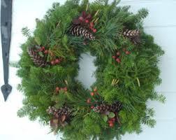 live christmas wreaths handmade christmas wreath etsy