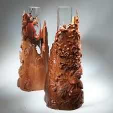 wood artwork for sale pavel sorokin ningong decorative interior vase wood