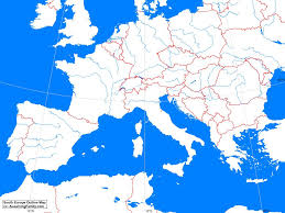 Blank Map Of Spain by South Europe Outline Map A Learning Family