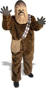 star wars chewbacca super deluxe child costume buycostumes com
