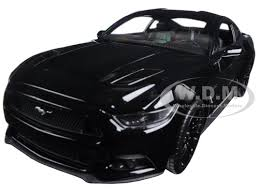 2015 Gt Mustang Black Ford Mustang Gt Black 1 24 Diecast Model Car Welly 24062