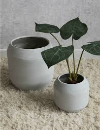 gorgeous vases planters u0026 hanging baskets rose u0026 grey
