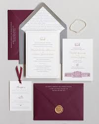 wedding invitations new york fourteen forty custom wedding invitations