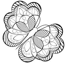 printable coloring pages for adults geometric new easy butterfly adult coloring pages design printable coloring