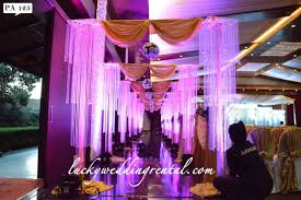 rent wedding decorations pathway decorations on rent lucky wedding rental