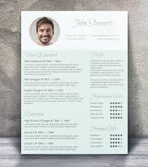 Awesome Resume Templates Free 21 Stunning Creative Resume Templates