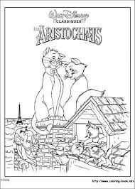 aristocats coloring picture