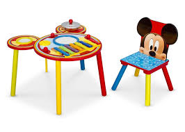 mickey mouse end table mickey mouse music table delta children