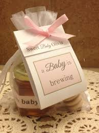 favor favor baby a baby is brewing tea honey favor baby shower gift by holyhoney