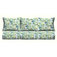 Outdoor Settee Cushions Set Of 3 Clearance Loveseat U0026 Sofa Patio Furniture Cushions You U0027ll Love Wayfair