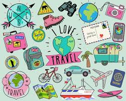 travel clipart images Travel clipart summer clipart bullet journal stickers etsy jpg
