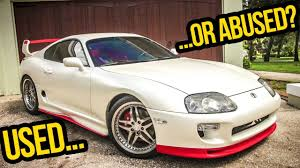 toyota supra side view everything wrong with my cheap 200 000 mile toyota supra youtube