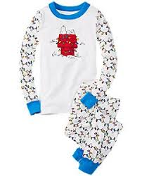 peanuts pajamas in organic cotton by andersson