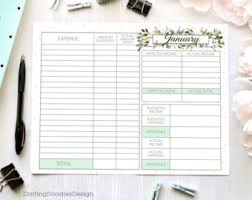 printable budget worksheets set of 12 yearly budget