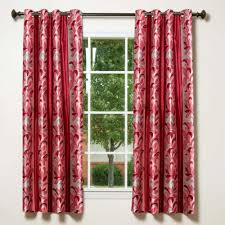 window nice red window curtains design ideas with casement window