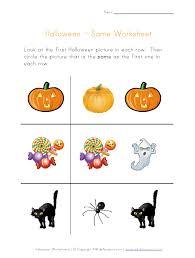 5 best images of preschool halloween worksheets printables