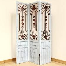 Vintage Room Divider by Luxury Room Dividers Vintage Whitewash Divider Screen 3 Panel With
