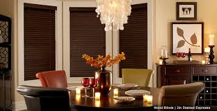 Wooden Blinds With Curtains Custom Wood Blinds U0026 Window Coverings 3 Day Blinds
