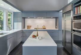 Mid Century Modern Kitchen Kitchen Cabinets Pinterest Mid - Modern kitchen backsplash