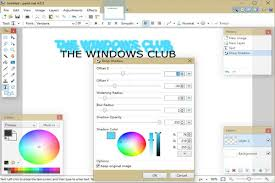 how to create drop shadow effects in paint net
