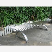 Steel Outdoor Bench Garden Bench Stainless Steel Garden Bench Stainless Steel
