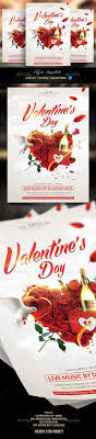 valentines flyer template 20 best best valentines day flyer templates images on