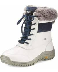 ugg s adirondack ii leather apres ski boots shopping special ugg adirondack ii leather hiker boot white