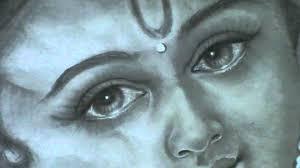 lord krishna pencil art by koodalkannan south india youtube