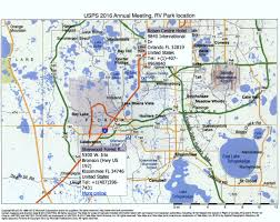 Map Of Kissimmee Florida by Next Meeting Rv Park Of Choice Page