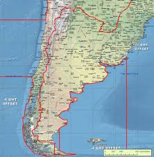 Time Zone Converter Map by Argentina Time