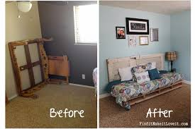 Painted Bedroom Furniture Before And After by Spare Bedroom Before U0026 After Find It Make It Love It