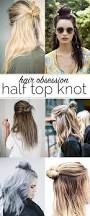 half top knot ideas half top knot shorts and hair style